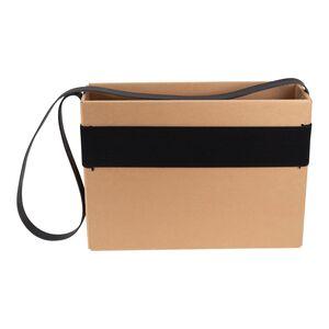 Mobil förvaringsbox design, brun