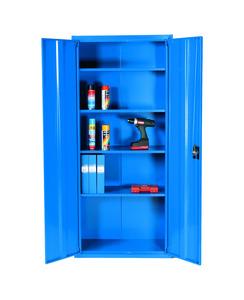 Förvaringsskåp, 2000x1000x500 mm, Blå