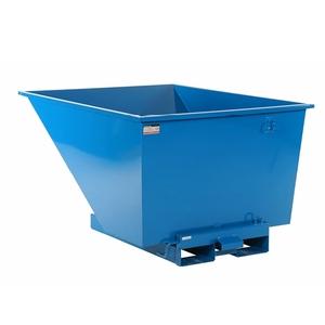 Tippcontainer med tryckplatta 900 L