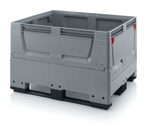 Fällbar plastcontainer 120x100x79 | 3 medar