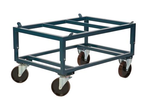 Pallvagn med ställbar höjd för standardpall