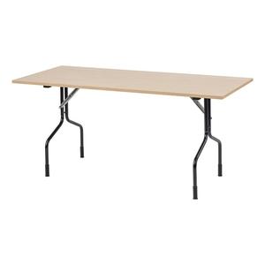 Fällbart bord Handy, 1400x800, Bok/Svart