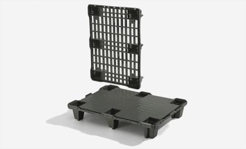 Plastpall | Halvpall 800x600 mm