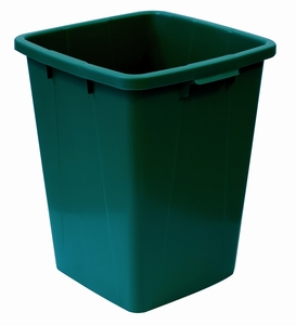 Plastkärl, 90 L, Grön