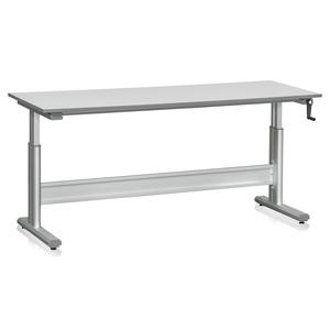 Höj och sänkbart arbetsbord 2000 mm | Inkl. Bordsskiva
