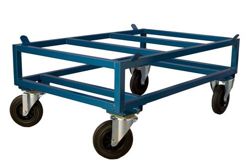 Hög pallvagn för standardpall