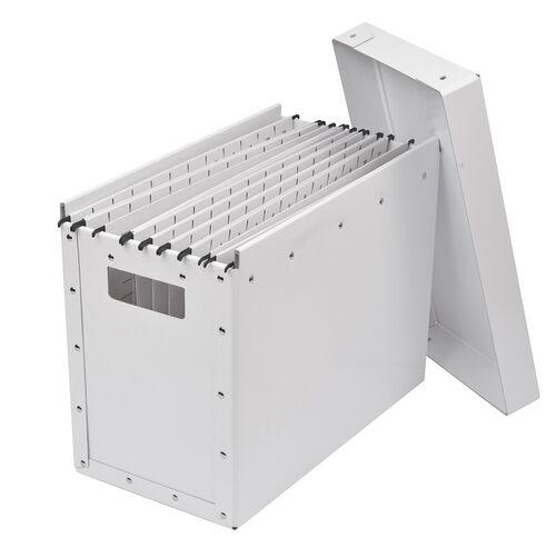 Mobil arkivbox med lock, A4