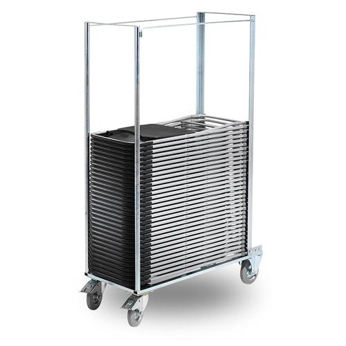 Möbelvagn till fäll- och stapelbara stolar