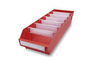 Lagerlåda 500x180x110 | Röd | 20 st