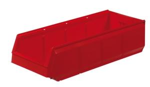 Modulback 600x230x150 mm, Röd | 10-pack