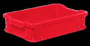 Plastback 24 L | 600x400x145 mm | Röd