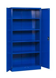 Dokumentskåp Flatpack 2000x1000x500 mm, blå