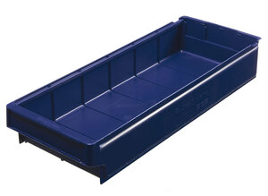 Lagerlåda 600x230x100 mm | Blå | 8 st