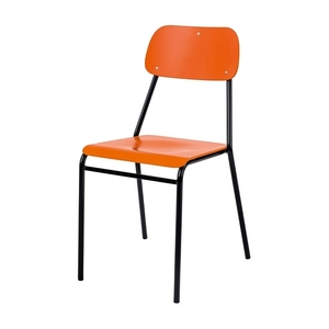 Stol Coldie, Orange/Svart