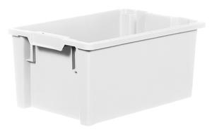 Stapelbar plastback 50 L   600x400x270 mm   Vit