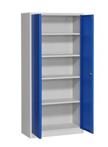 Förvaringsskåp 300 1950x920x420 mm Grå/Blå