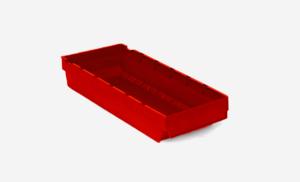 Lagerlåda 4L   400x188x80   Röd   40 st
