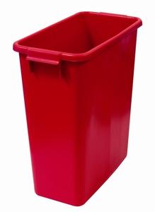 Plastkärl, 60 L, Röd