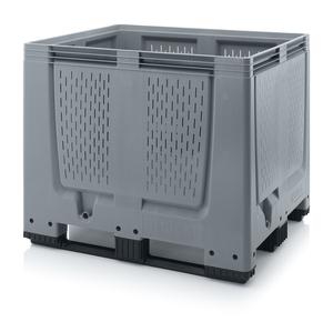 Plastlåda stor med ventilation 120x100x100 | 3 medar