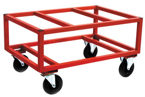 Hög pallvagn för helpall | Max 800 kg