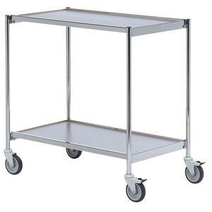 Rullbord utan handtag 800x420 Krom/Grå