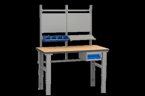 Komplett arbetsbord med förvaring   500kg