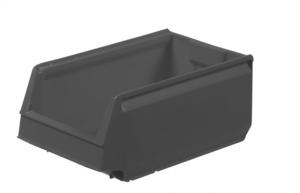 Modulback 350x206x150 mm | 16 st | Grå (återvunnen)