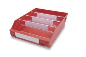 Lagerlåda 300x240x95 | Röd | 15 st