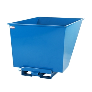 Tippcontainer med tryckplatta 1100 L
