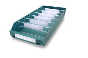 Lagerlåda 500x240x95 | Grön | 15 st