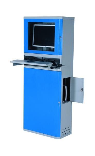 Datorskåp, 330x650x1630 mm
