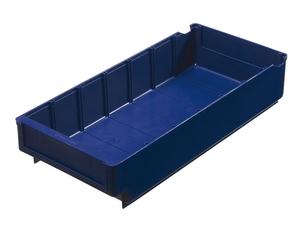 Lagerlåda 400x188x80 mm | Blå | 5 st