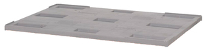 Pallock till pallkrage, 1200x800x40, grå