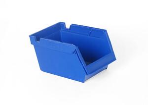 Lagerlåda 4 L | 250x148x130 | Transparent/grå | 36 st