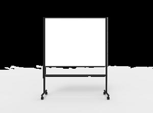 Dubbelsidig Whiteboard Creative Svart