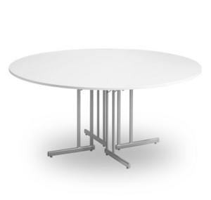 Konferensbord TILLSAMMANS vit/silvergrå D 1600