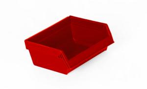 Modulback  0.2 L | 95x105x45 | Röd | 1 st