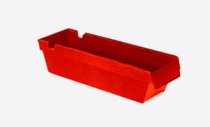 Lagerlåda 3L   400x115x100   Röd   24 st