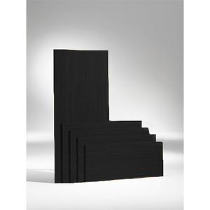 Bordsskiva 1200 x 700 x 19, svart