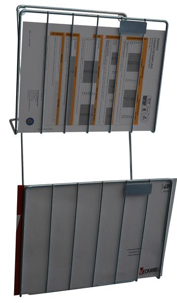 Postkorg med 2 fack