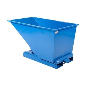 Tippcontainer med tryckplatta 600 L