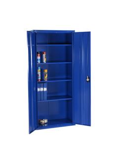 Förvaringsskåp, 1800x800x400 mm, Blå