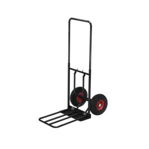 Magasinkärra med punkteringsfria hjul, Svart