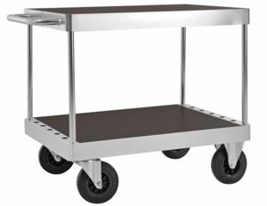 Bordsvagn, 1000x700 mm, 2 plan