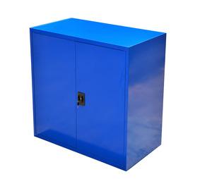 Förvaringsskåp, 900x800x400 mm, Blå