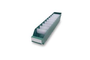 Lagerlåda 500x90x95 | Grön | 40 st