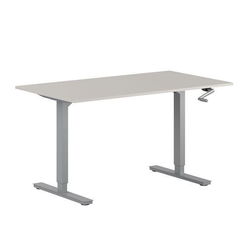 Höj- och sänkbart skrivbord med vev, StepUp 140G