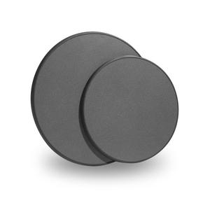Modern bordsskiva, svart/antracit D 700