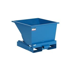 Tippcontainer med tryckplatta 150 L