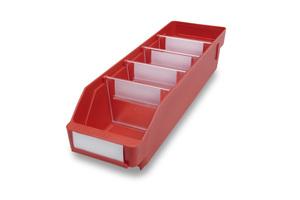 Lagerlåda 400x120x95 | Röd | 30 st